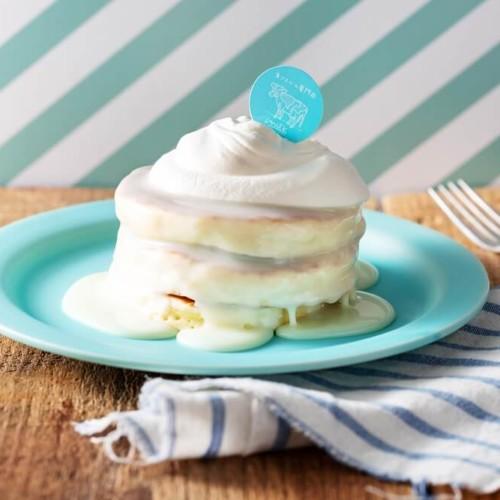 milk 究極の生クリームのミルクパンケーキ
