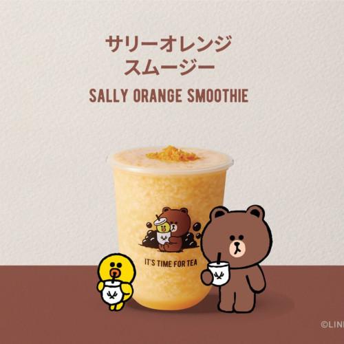 「THE ALLEY(ジ アレイ)」×「LINE FRIENDS」 サニーオレンジスムージー