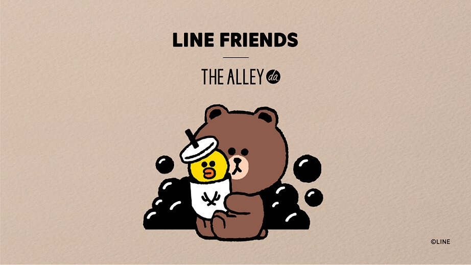 「THE ALLEY(ジ アレイ)」×「LINE FRIENDS」