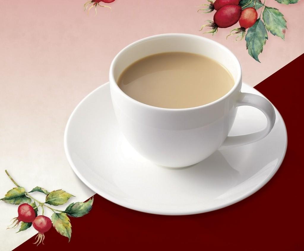上島珈琲店 ローズヒップミルク紅茶