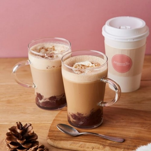 Afternoon Tea LOVE&TABLE あずきミルクティー あずきコーヒー