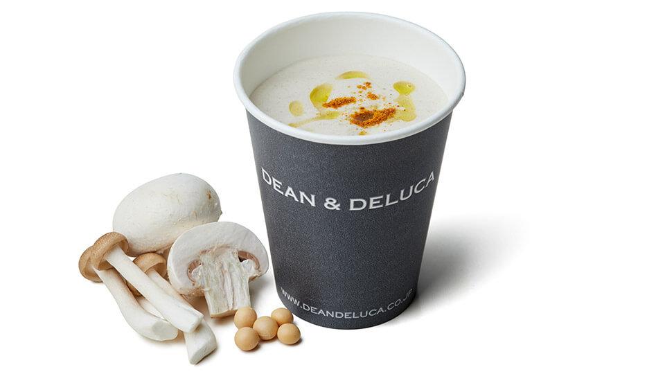 DEAN & DELUCA CAFE 豆乳きのこスープ