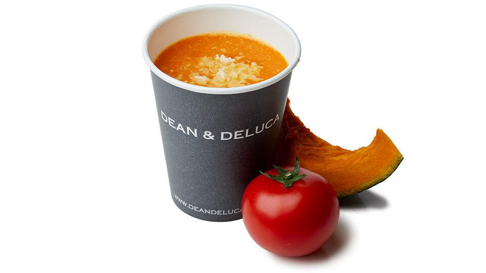 DEAN & DELUCA CAFE パンプキントマトスープ