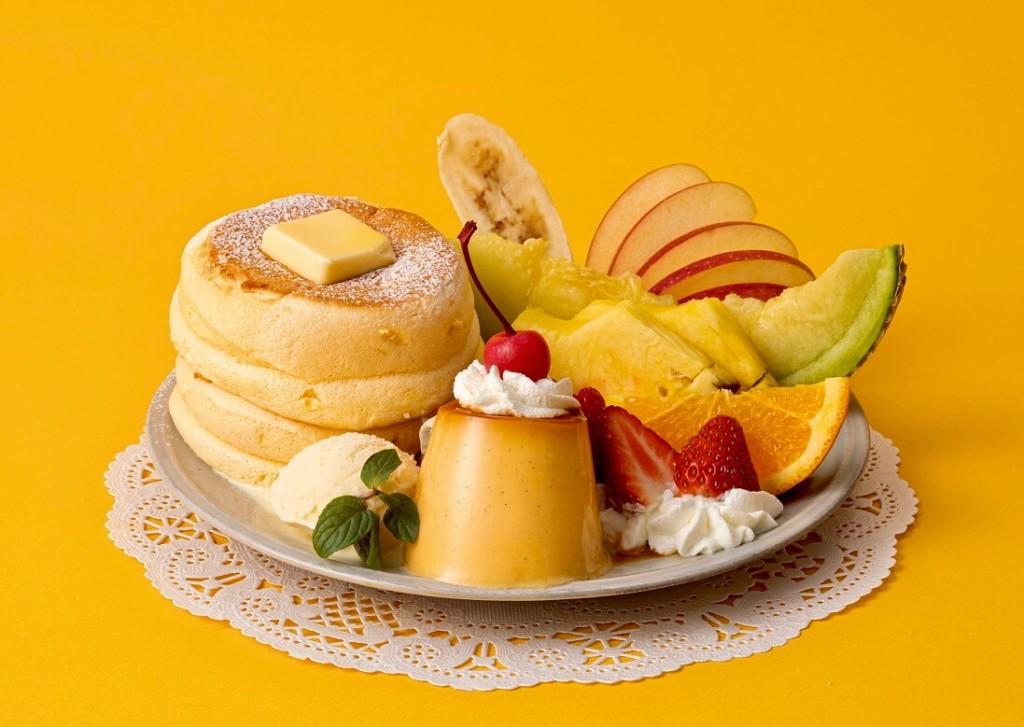 フリッパーズ 奇跡のパンケーキ プリンアラモード