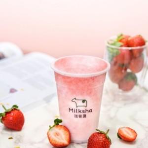 台湾発のドリンクブランド「Milksha」から日本限定 新メニュー「フレッシュいちごミルク」発売開始!