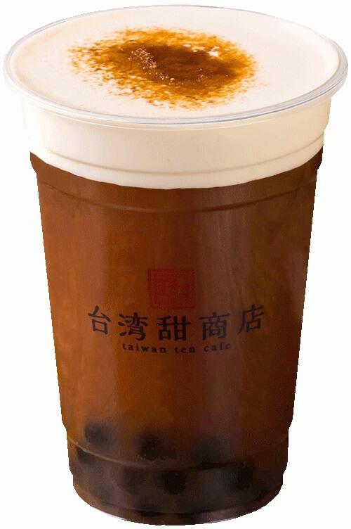 台湾甜商店 幸福路のチー コラボチーズティー