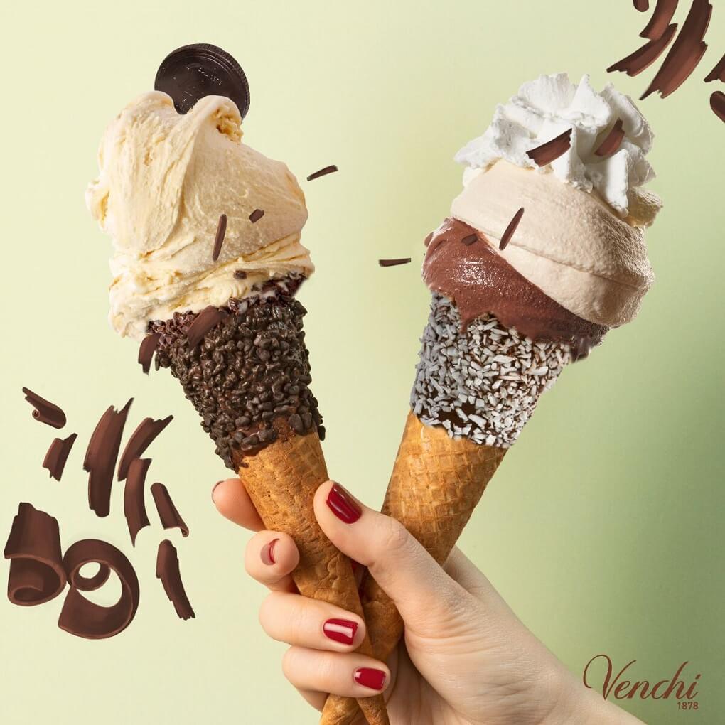 チョコレート・ジェラート専門店「 ヴェンキ」銀座店 ジェラート