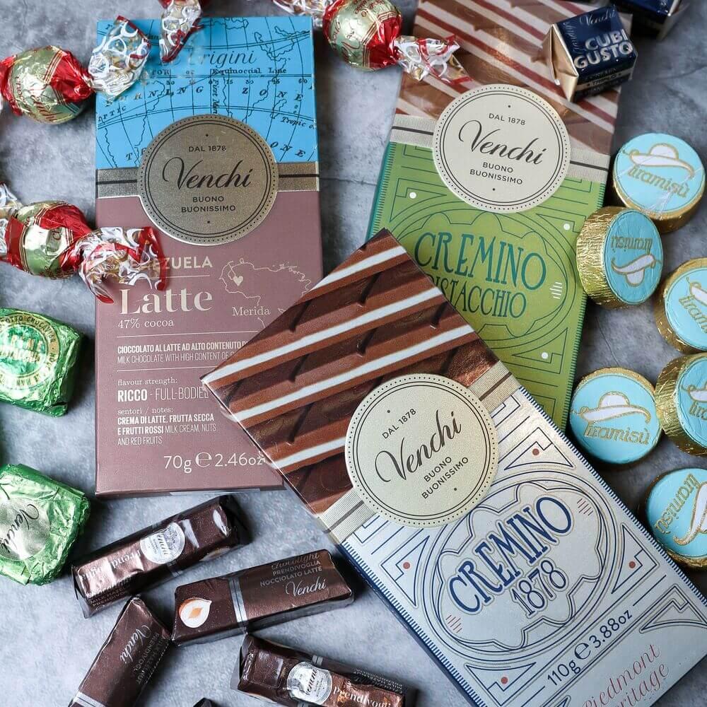 チョコレート・ジェラート専門店「 ヴェンキ」銀座店 チョコレート