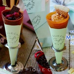 【gelato pique cafe】バレンタイン&ホワイトデー限定クレープが発売開始!