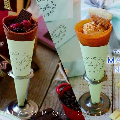 gelato pique cafe バレンタイン&ホワイトデー限定クレープ