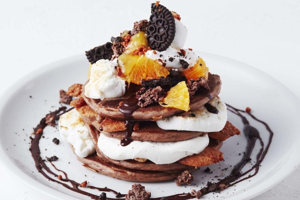 J.S. PANCAKE CAFE スモアチョコレートパンケーキ