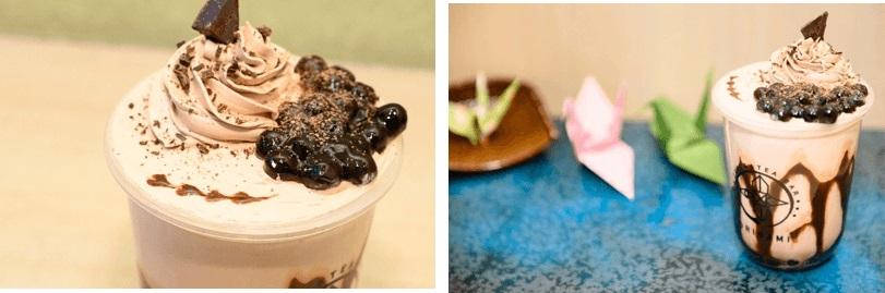 juice&tea bar ORIGAMI ハイカカオチョコモンスター バレンタインver