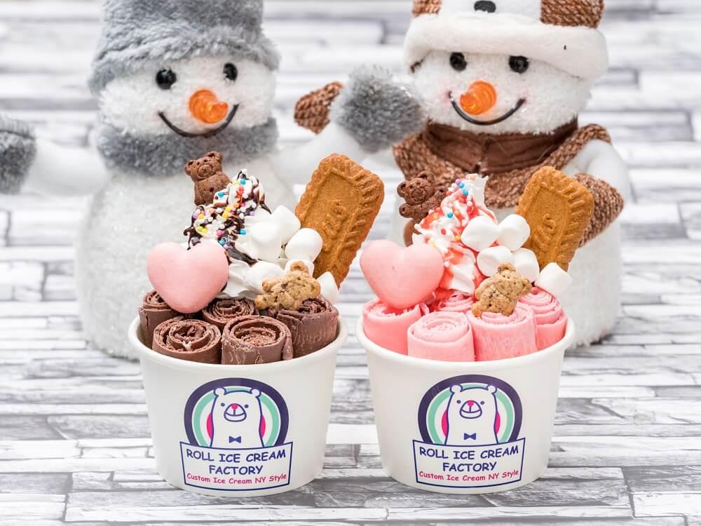 ロールアイスクリームファクトリー 2020バレンタインメニュー