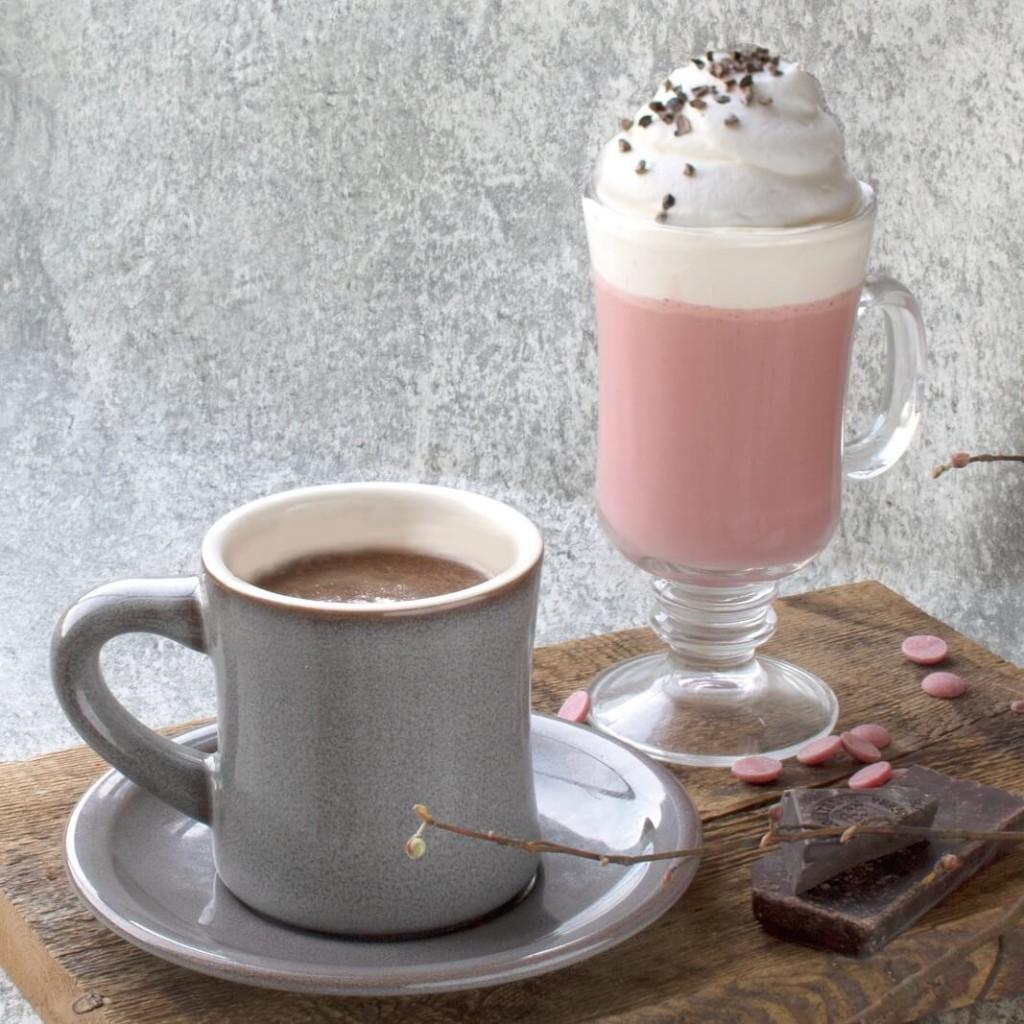 タブレスクック& リビングハウス ルビーチョコとストロベリーのホットチョコレート 80% カカオのホットチョコレート