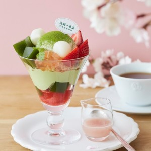 【Afternoon Tea】香り高い宇治抹茶を使ったパフェなど、春スイーツを発売開始!