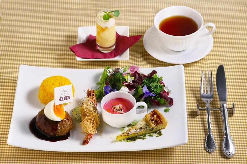 三菱一号館美術館 Cafe 1894 タイアップメニュー 夢のお子さまランチ