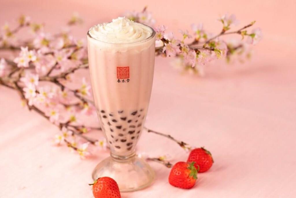 春水堂 タピオカ桜ベリーミルクティー