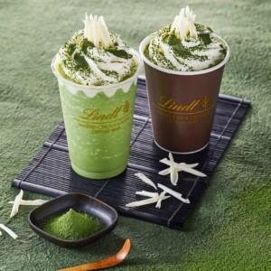 【新作】リンツ ショコラ カフェで 抹茶×チョコレート ドリンクを発売開始!