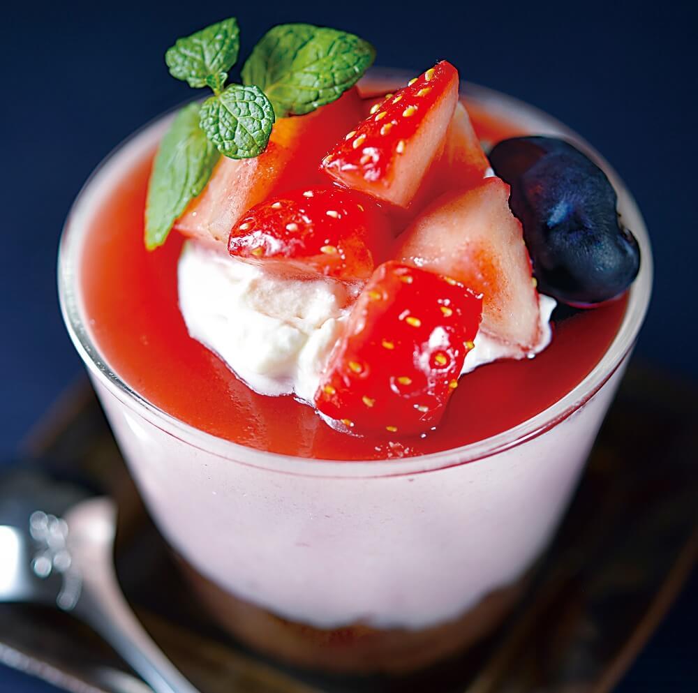 ukafe(ウカフェ)の『イチゴのムース』