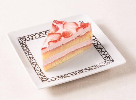 元町珈琲 いちごレアチーズケーキ