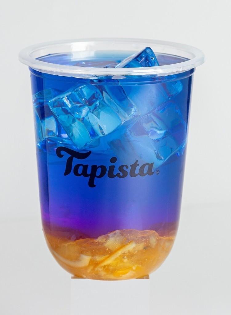 タピオカ専門店Tapista 果肉入りオーロラレモネード