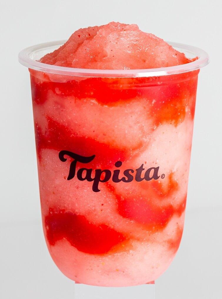 タピオカ専門店Tapista ジューシー生いちごソルベ