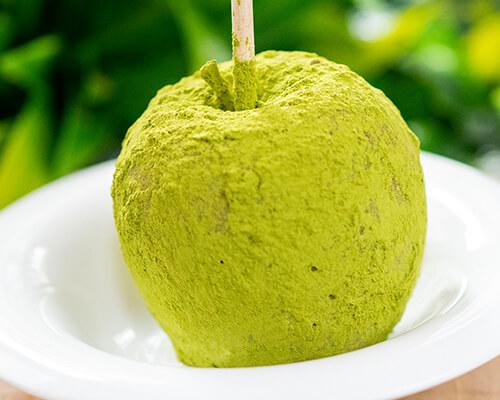 りんご飴専門店『Candy apple』 抹茶