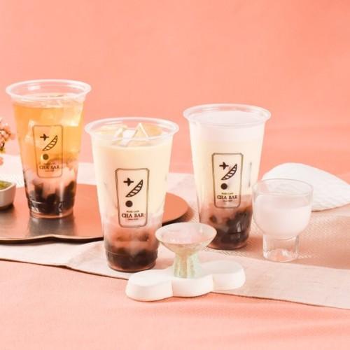「PEARL LADY 茶BAR」 さくら×蜜烏龍茶×ナタデココ