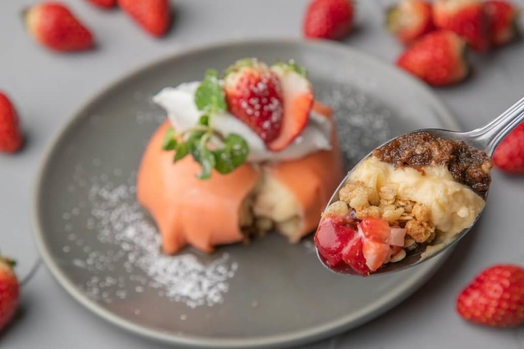 cheesetable 苺のティラミスクレープ