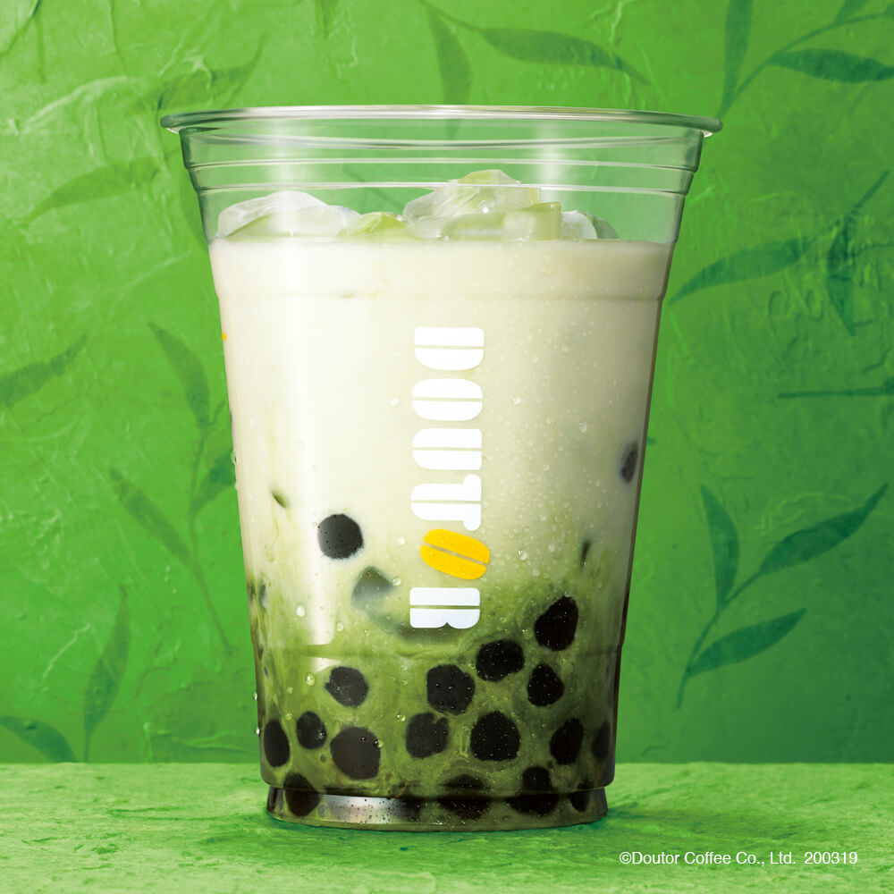 ドトールコーヒー タピオカ ~宇治抹茶ミルク~