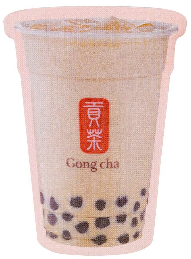 「Gong cha(ゴンチャ)」エキュート上野店オープン記念付箋