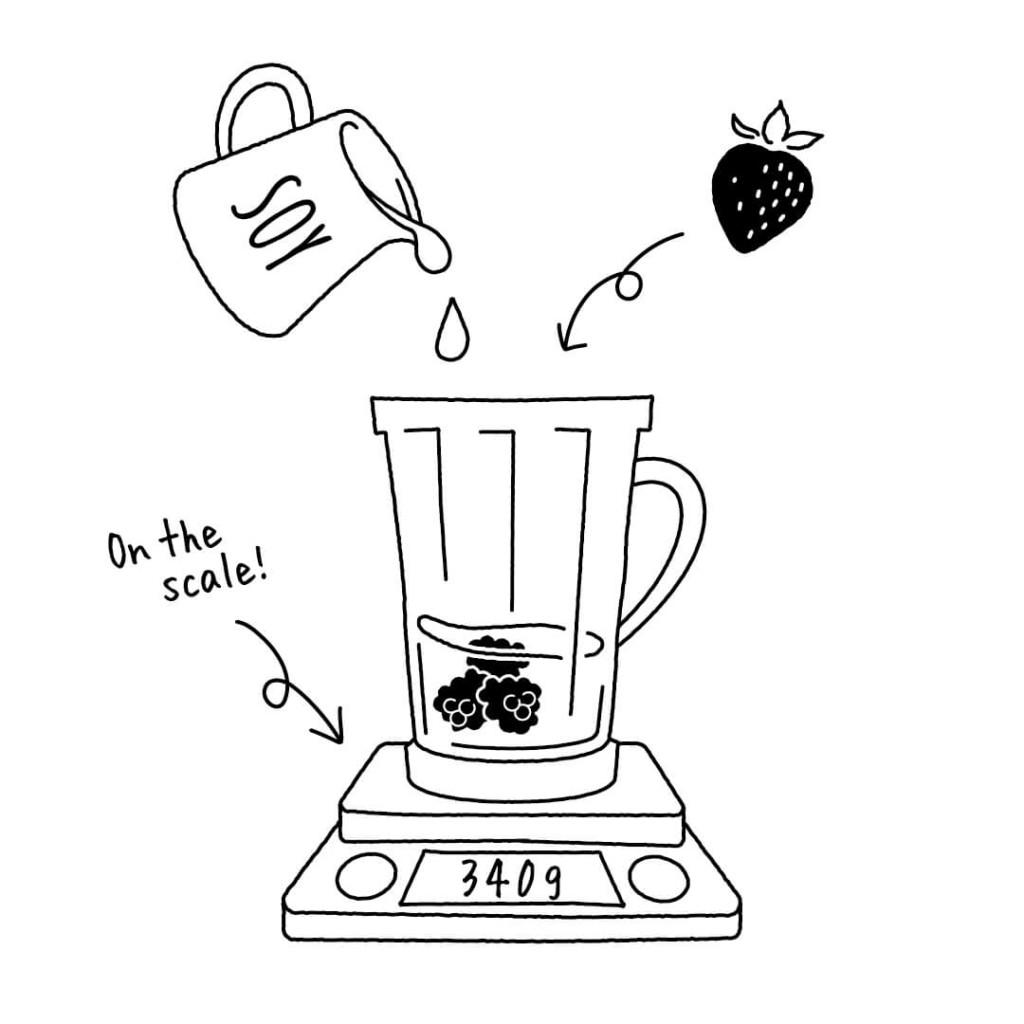 ボタニストカフェ スプリングスムージー 作り方