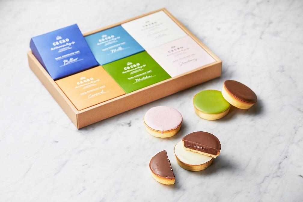 cacao リッチ生チョコタルト 6種セット