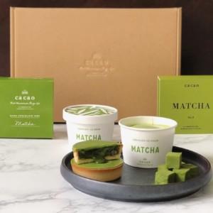 【通販】ca ca o から『抹茶バウムクーヘン』などの抹茶スイーツ発売開始!