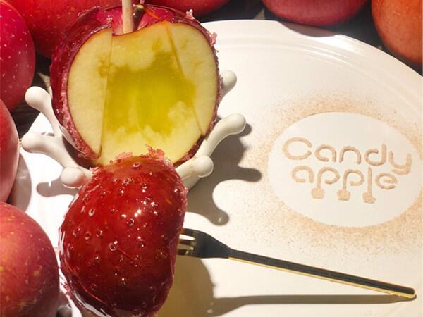 りんご飴専門店カフェ『Candy apple(キャンディアップル)』