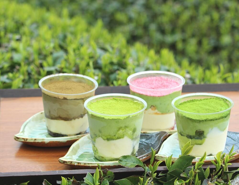 D-matcha 濃厚茶葉の新茶ティラミスセット
