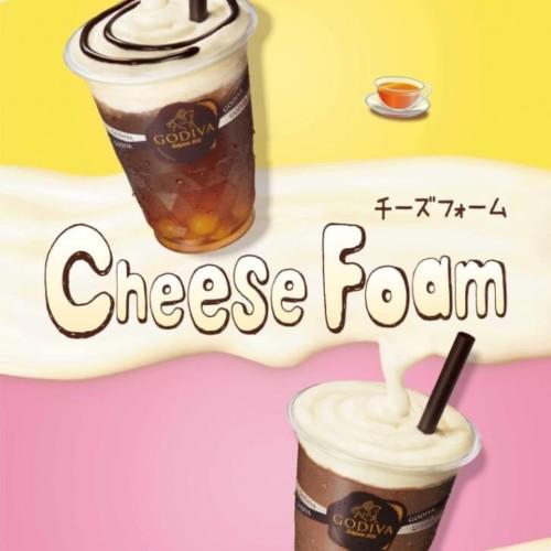 ゴディバ 『チーズフォーム×ショコリキサー』『チーズフォーム × レモンティー』