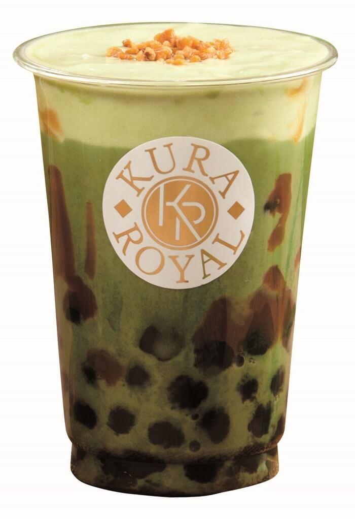 くら寿司 タピオカキャラメル抹茶ミルク