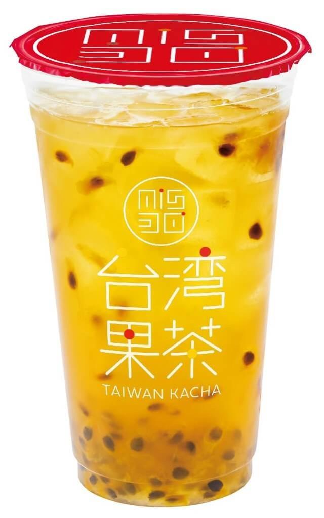 ミスド 新ドリンク『台湾果茶』パッションフルーツジャスミン