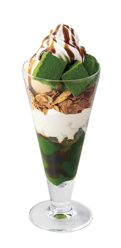 nana's green tea 玉露わらび餅パフェ