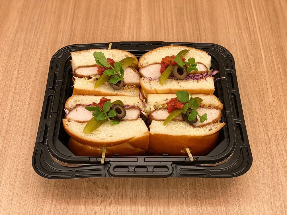 サラベス テイクアウト用 サンドウィッチ