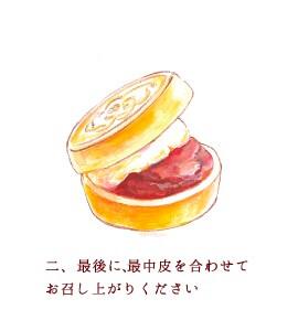 京都祇園あのん銘菓「あんぽーね」食べ方