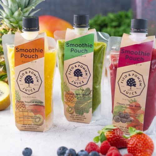 FICO & POMUM JUICE Smoothie Pouch