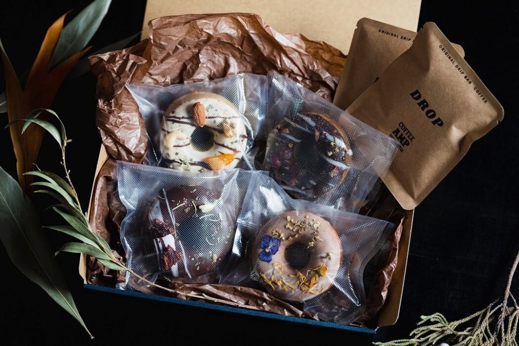 お花の焼きドーナツ専門店gmgm おつまみ焼きドーナツ父の日ギフトBOX