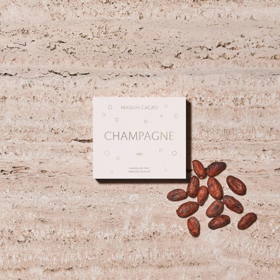 MAISON CACAO ニュウマン横浜店 アロマ生チョコレート シャンパン