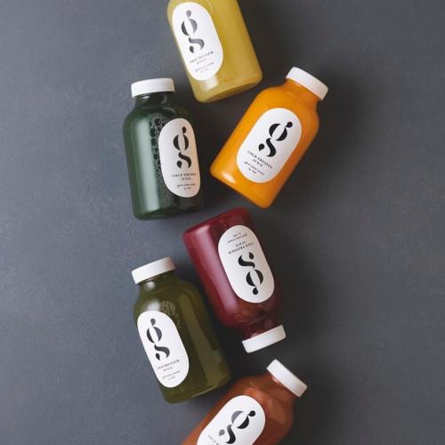 glow juice stand
