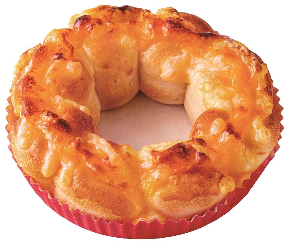 ミスド 『ポン・デ・ちぎりパン』3種のチーズ