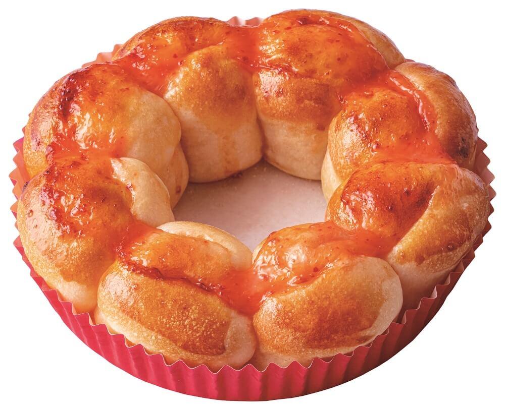 ミスド 『ポン・デ・ちぎりパン』めんたいマヨソース