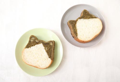 ねこねこ食パン ほうじ茶