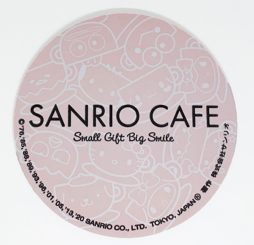 SANRIO CAFE 池袋店 コースター